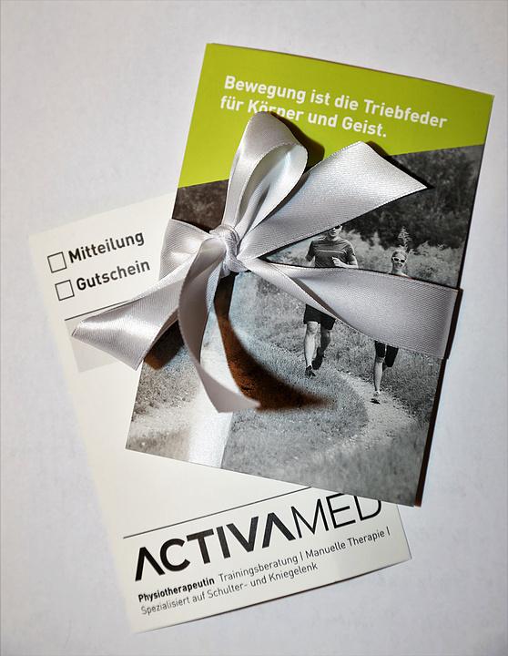 Geschenkgutschein Karte