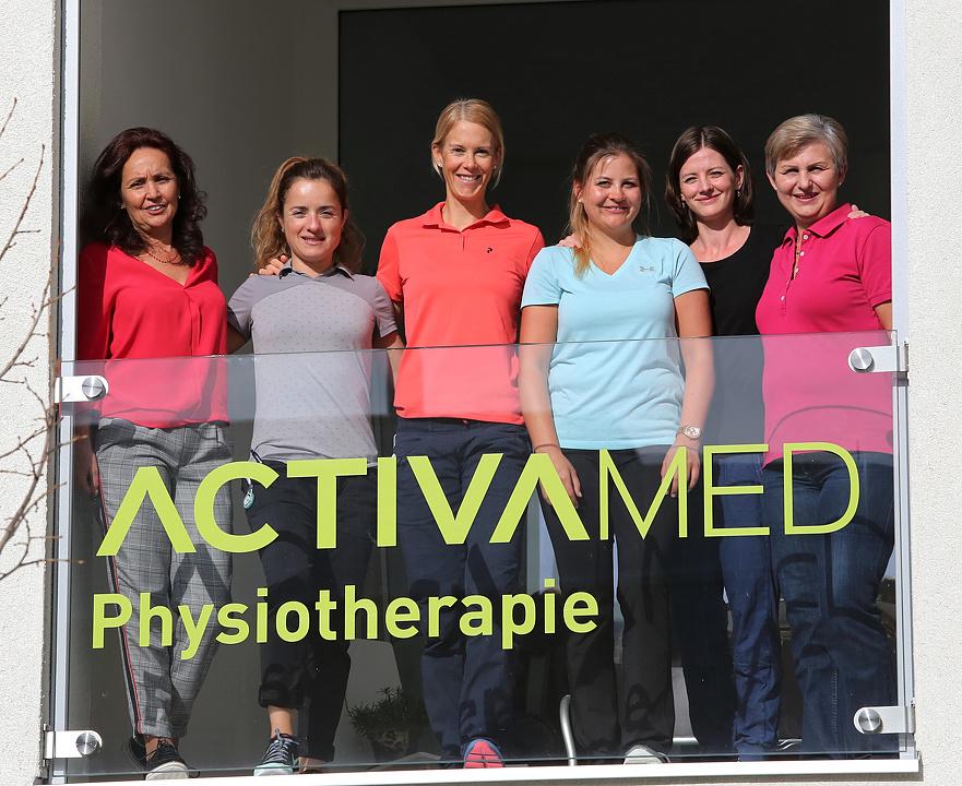 Team v.l.n.r. Severina, Luzia, Alexandra, Maria,  Nicole und Brana