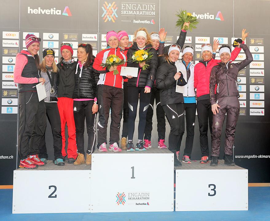 ACTIVAMED Team 3. Rang am Frauenlauf